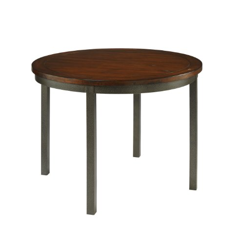 Home Styles 5411-30 Cabin Creek Round Dining Table (Look Dining Table Wood Reclaimed)