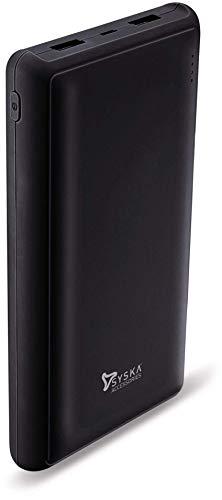 Syska 20000 mAh Power Pro 200 Power Bank (Black)