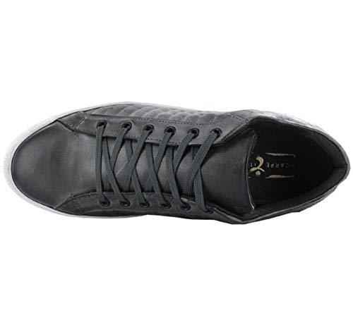 Italiane Pelle Zita Scarpe Multicolore Calzature Sneaker Top Da Grigio 2114 Uomo PgCCdqw