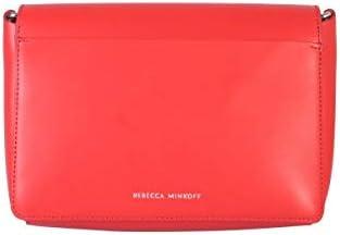 Rebecca Minkoff Luxury Fashion Femme SS19SBH023018T Rouge Cuir Sac Porté Épaule | Saison Outlet