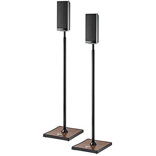 OMNIMOUNT GEMINI 1 GEMINI1B Audiophile Speaker Stands, 2 pk