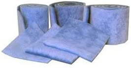 MERV 6 Blue//White Filtration Manufacturing 1110-36602 Polyester Media Roll 720 L x 36 H x 2 D