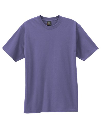 By Hanes Beefy-T Adult Short-Sleeve T-Shirt_Purple_S