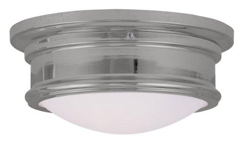 Livex Lighting 7341-05 Astor 2 Light Ceiling Mount, Chrome