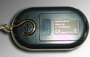 Avec 2 piles AAA Coloris noir Balance /à poisson G/&G HG4-20 /Échelle de poids 20/kg////10/g