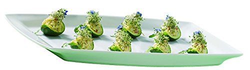 REVOL 004345 AL04325 Buffet Serving Dish, 20.75'' x 12.75'' x 1.5'', White by Revol (Image #2)