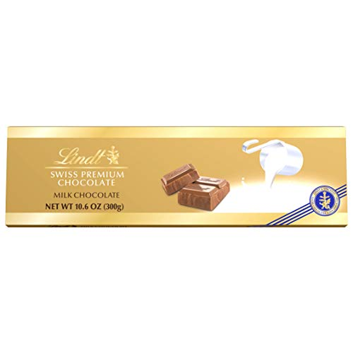 - Lindt Swiss Premium Milk Chocolate, 10.58-Ounce Packages (Pack of 4)