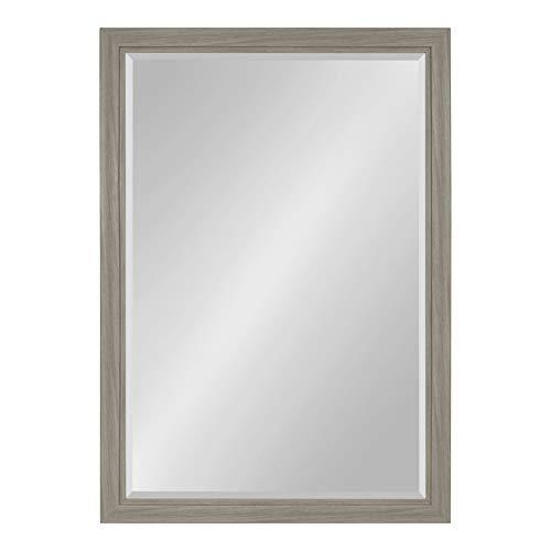 Kate and Laurel Dalat Framed Beveled Wall Mirror, 28x40, -