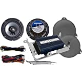 Hogtunes REV200SGKIT-RM Speaker Kit (Gen 3 200 Watt 2-Channel Amp and for 2014-2016 Harley-Davidson Street Glide Models)