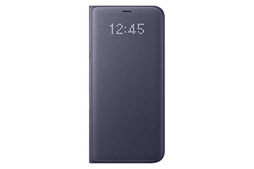 Samsung Galaxy S8+ LED View Wallet Case, Orchid Grey