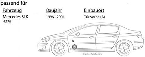 JUST SOUND best choice for caraudio Kicker DSC 670 16cm Koax Lautsprecher Einbauset f/ür Mercedes SLK R170 Front