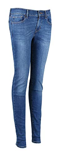 Levi's Blue Skinny Super Woman Vie Pants Denim La 34 27 710 wHxg7H4