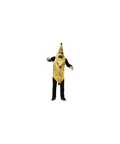 Adult Zombie Banana Costumes (Zombie Banana Adult Costume - One Size)