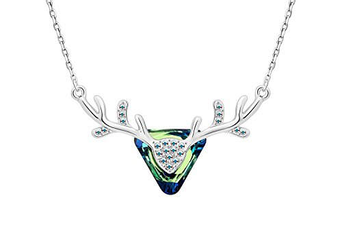 IUHA Elegant Oka Necklace made with Swarovski Crystal For Women Love Gift by IUHA