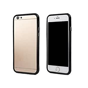 SHOUJIKE TPU Popular Style and Solid Color Protect Soft Framework for iPhone 6 (Assorted Colors) , White