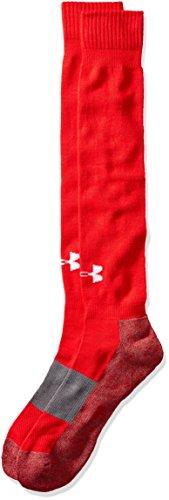 Under Armour Baseball Socks (Under Armour Mens Baseball Otc 2Pk, Red, X-Large)