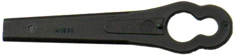 Bulk Hardware BH00280 Mower Blade to Fit Flymo FLY012, E30-4, E30-11, Twin E30, Minimo Plus 5148257909-02/4, Black & Decker A6072/ A6086 - Pack of 40 Bulk Hardware Ltd