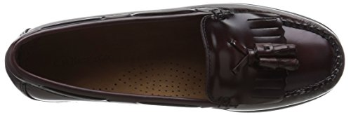 Gh Bass & Co. Womens Washington Penny Loafer Burgandy