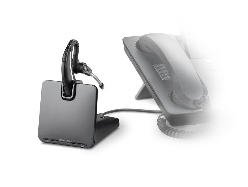 Plantronics CS530 Office Wireless Headset with Extended Microphone & Handset Lifter by Plantronics (Image #2)