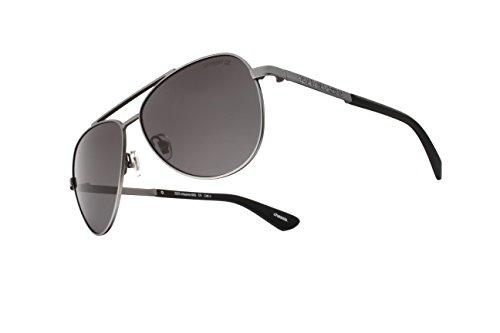 Superdry Gunmetal Chassis Aviator Sunglasses Lens Category 3