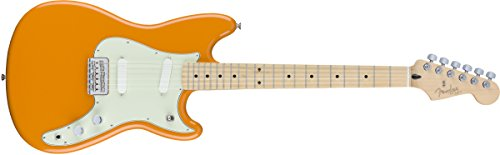 Fender Duo Sonic Electric Guitar - Maple Fingerboard - Capri ()