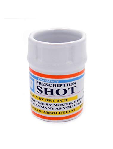Shot Glasses - Prescription Pill Bottle Shot Glass - 2 oz. RX Prescription Unique Funny Novelty 1 Sh - http://coolthings.us