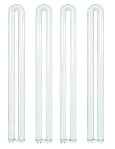 (4 Pack) Sylvania 21879 - FBO31/841 31 Watt T8 U Bend U Shaped Fluorescent Light Bulb, Ubend, Ubent, 31W Curvalume Lamp Replaces FBO31/841/XP/ECO F31T8/SPX41/U/ECO FB31/841/ECO FB31T8/TL841/ALTO
