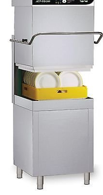 Jet Tech 757-E Door-Type Dishwasher (60) racks/hr by Jet Tech
