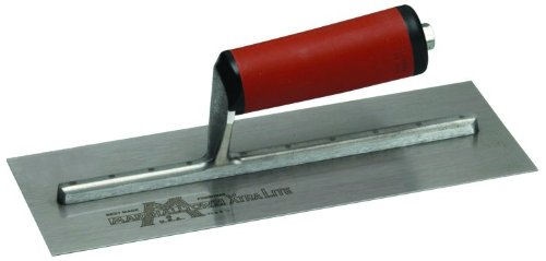 MARSHALLTOWN The Premier Line MX62D Finishing Trowel with Straight Durasoft Handle