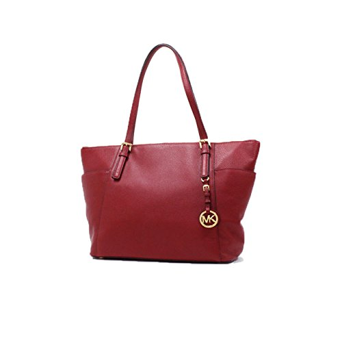 MICHAEL KORS JET SET ITEM LG EW TZ TOTE CHERRY by Michael Kors