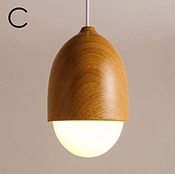 U Enjoy Chandelier Modern Nordic Pendant Light Nut Top Quality Hang Lamp Home Decorative Egg Shaped Lights For Dining Room Lighting Fixture Free Shipping C Amazon Co Uk Lighting