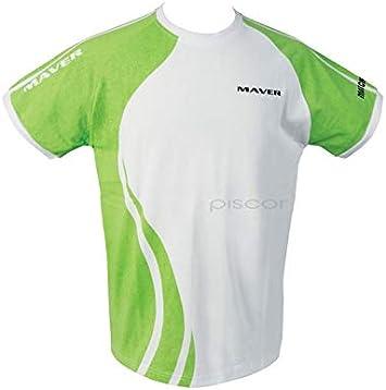 Maver Camiseta Pesca Camiseta Swirl XL Spinning Rio: Amazon.es ...