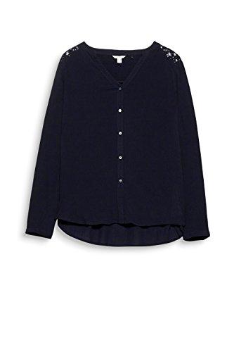Esprit Blouse Femme Noir 001 Black rrwqHd1T
