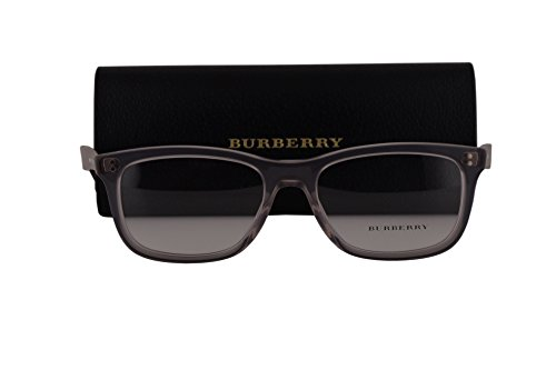 Burberry BE2212 Eyeglasses 54-18-140 Smoke Gray 3552 BE - Sale Cheap Burberry