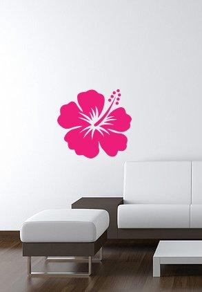HIBISCUS vinyl wall-art Decal 14