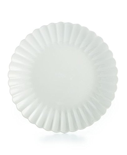 - Martha Stewart Collection Whiteware Fleur Dinnerware Salad Plate, Set of 4