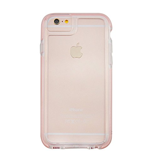 Uunique Armour klare Sicht Hard Shell Cover Schutzhülle für iPhone 6/6S – Rose Gold