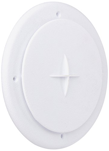 DW D and W 5840BTW Bright White Aireport Air Conditioner Vent