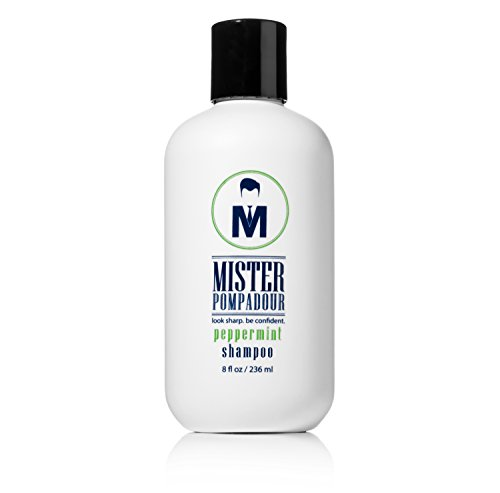Mister Pompadour Peppermint Shampoo - 8.5 oz - Look Sharp. Be Confident
