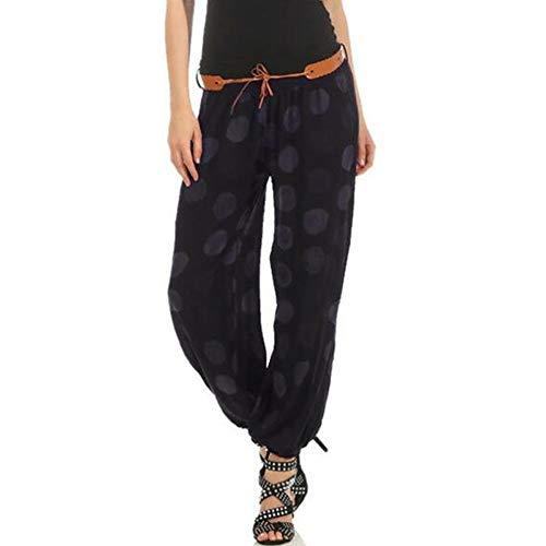 (POQOQ Pants Leggings Women Slim Boot Cut Stretch Biker Skinny Ankle Zipper Pleated Stretch Low Waist Pencil Pajama 3XL Black)