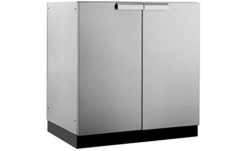 New Age 65000 Outdoor Kitchen, 2 Door Cabinet, Stainless Steel (Stainless Cabinets Outdoor Steel)