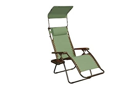 bliss hammocks gfc 437d gravity free recliner with sun shade and drink tray amazon     bliss hammocks gfc 437d gravity free recliner with      rh   amazon