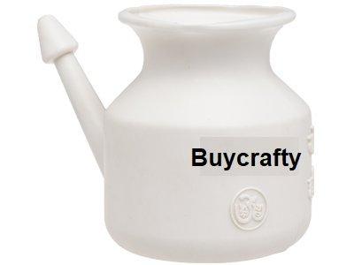 buycrafty Traveller de Neti Pot para limpieza nasal, poco teteras con largo boquillas, Economía, ligero Neti Pot | práctico, compacto & Travel ...