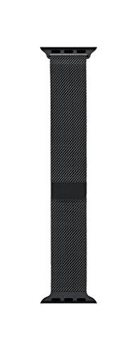 Apple MLJH2AM/A Watch 42mm Space Black Milanese Loop ()