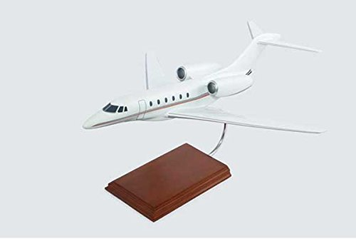 Cessna Citation X Quality Desktop Model Plane 1/40 Scale / Unique and Perfect Gift Idea / Museum Quality Handcrafted Business Jet Aircraft Replica Display / Collectible Gift Toy
