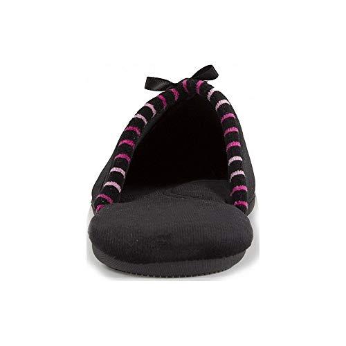 Isotoner Pantofole Isotoner Donna Pantofole Donna Pantofole Nero Isotoner Nero Donna wO4SBSYI
