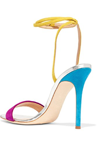 D'orsay High Shoes Kolnoo Heel Handmade Muilt Ankle Strap Womens Sandals Summer 6wUEqUT