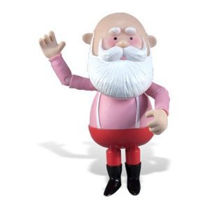 rudolph the red nosed reindeer santa claus poseable figurine - Rudolph And Santa