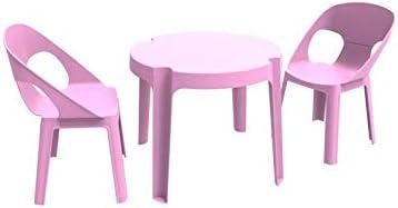 resol Rita set infantil de 2 sillas y 1 mesa para interior ...