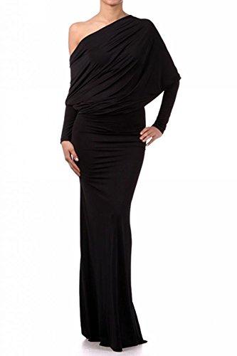 Palazzo Fashion Women's Multi Way Convertible Dress S Black